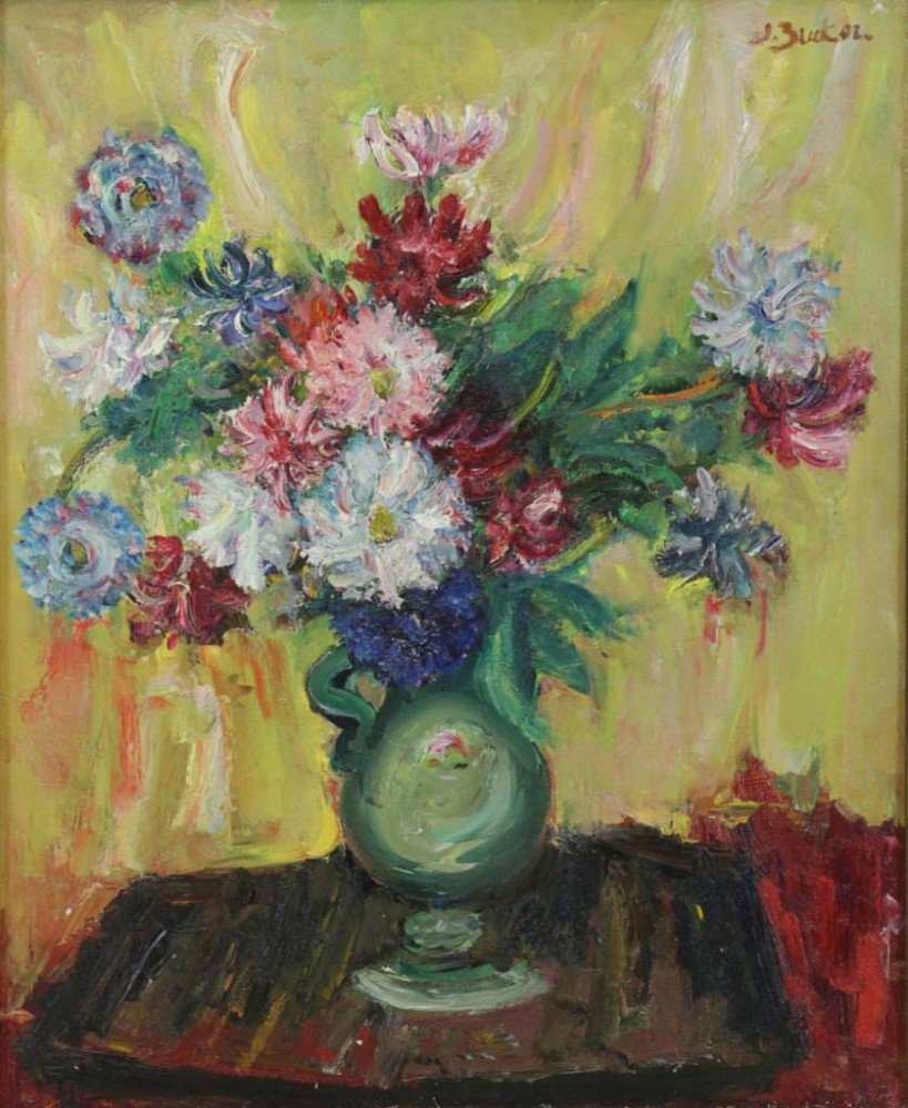 Floral Still Life by Jacques Zucker