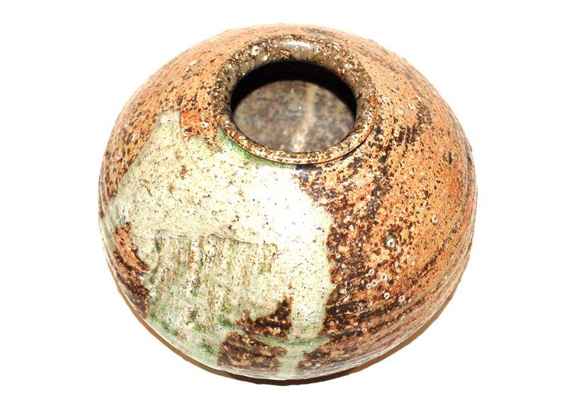 A Japanese Shigaraki Pot