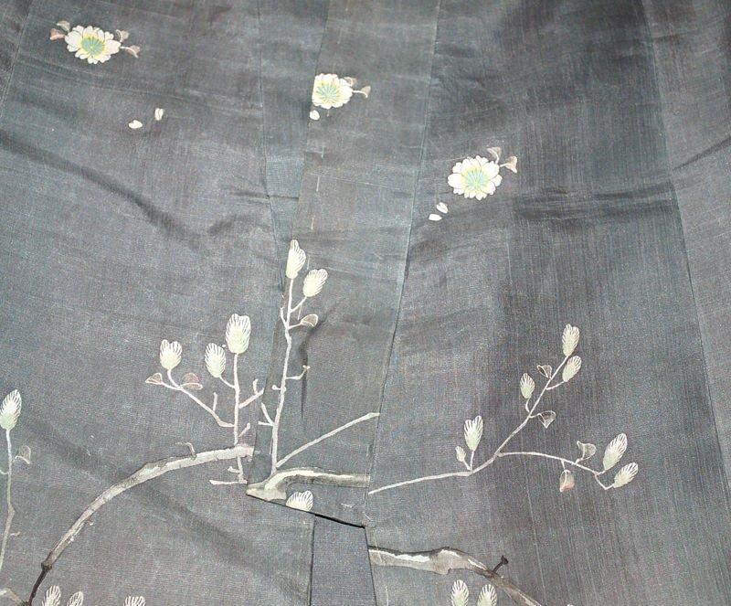 A Japanese Silk Child's Kimono