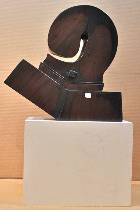 A Fine Japanese Wood Jizai, Hearth Hook