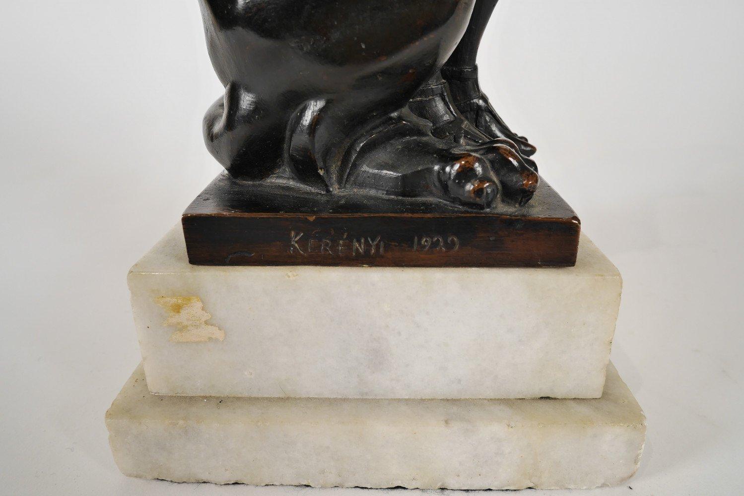 The Lion Tamer by Jenő Kerényi
