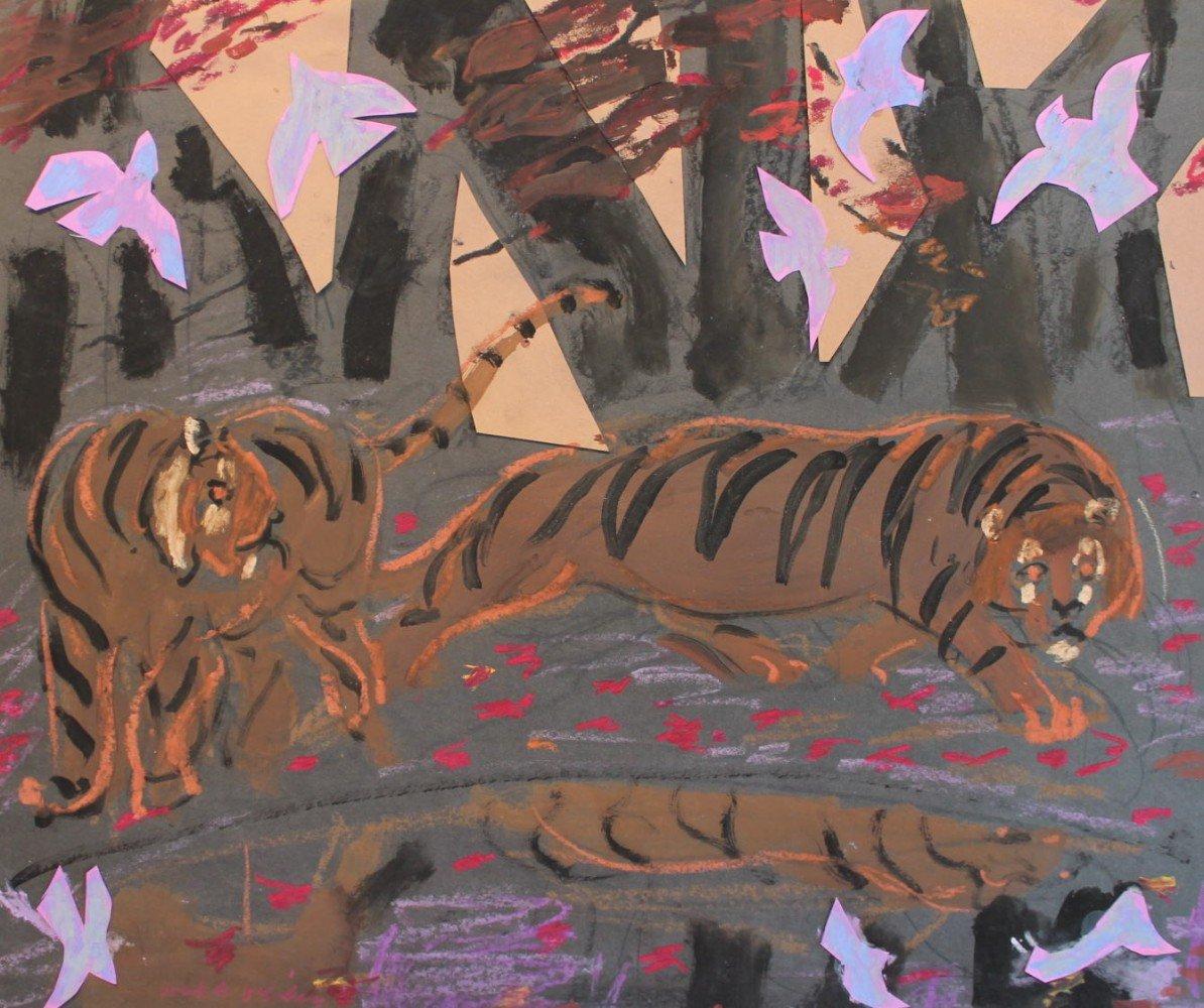 Two Tigers by Joseph Benjamin O'Sickey