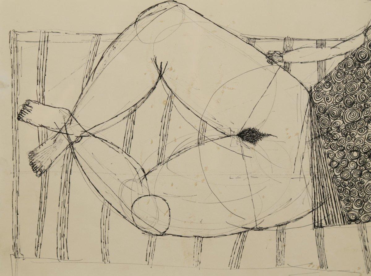 The Sunbath, Study by Joseph Glasco