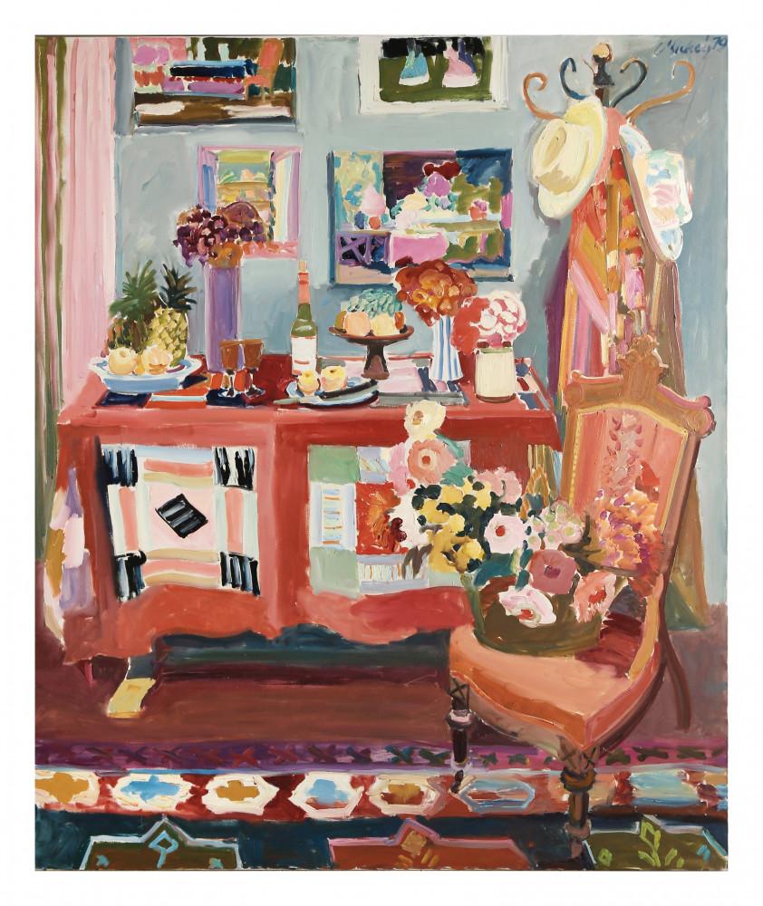 Large Studio Still Life by Joseph Benjamin O'Sickey