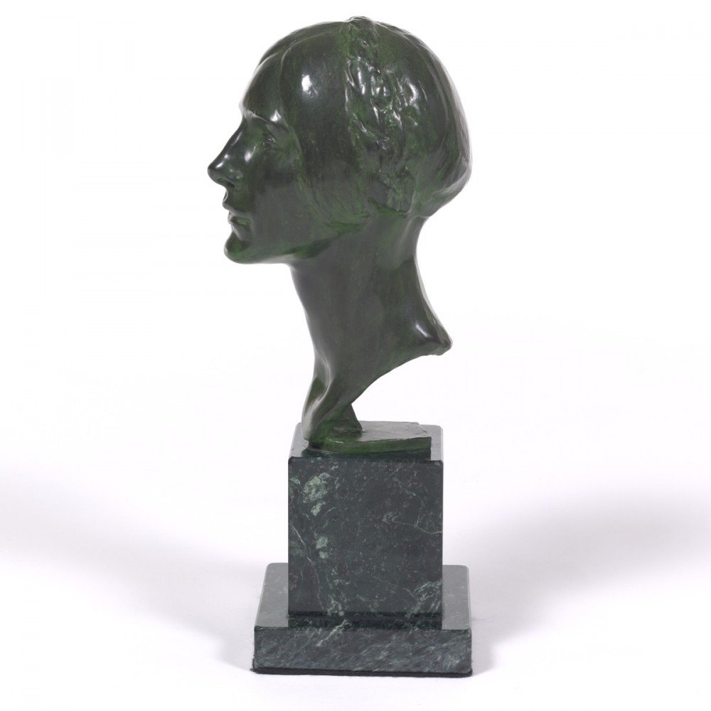Bust of Dorothy Dietz (Wife of David Dietz) by Max Kalish