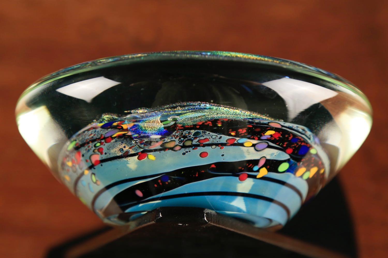 Glass Sculpture by Rollin Karg