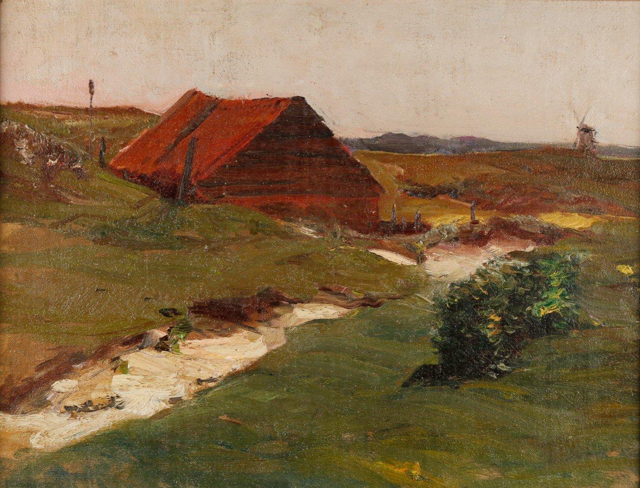 Near Maassluis by Henry George Keller