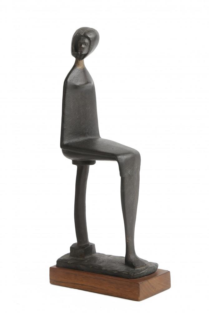 Seated Woman by Ken Glenn