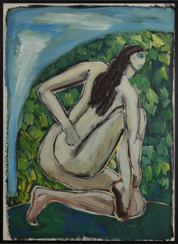 Kneeling Woman by Ken Nevadomi