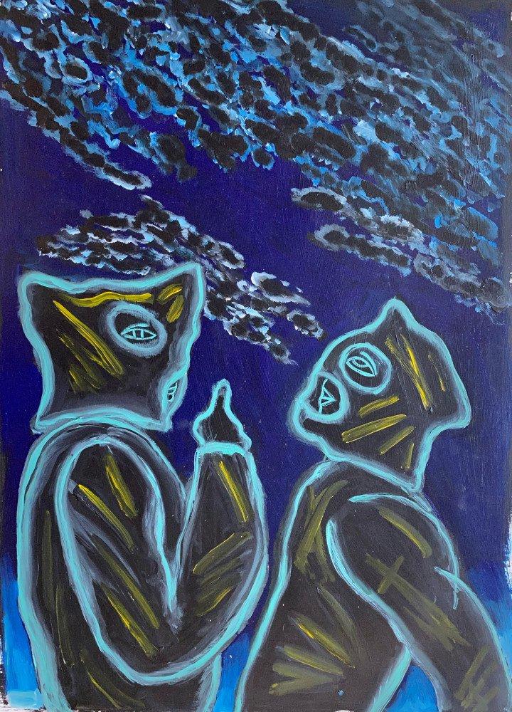 It's a Mackerel Sky by Ken Nevadomi
