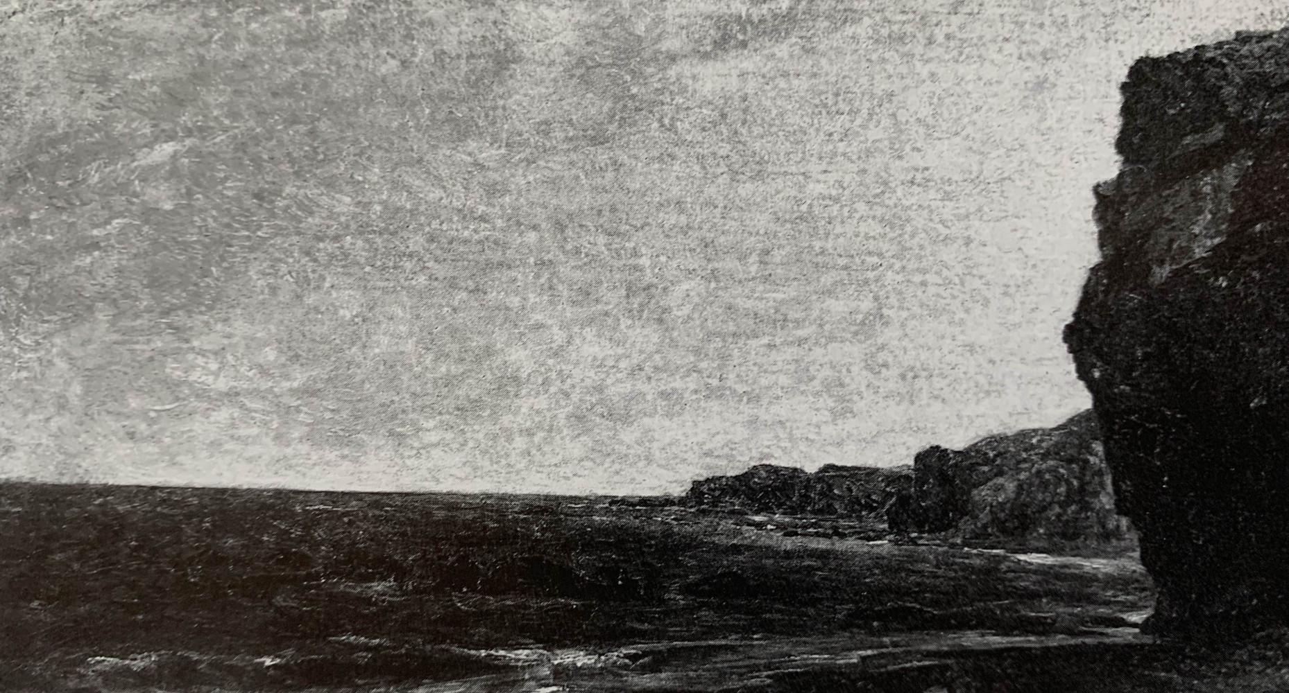 Rocky Seascape by John Frederick Kensett