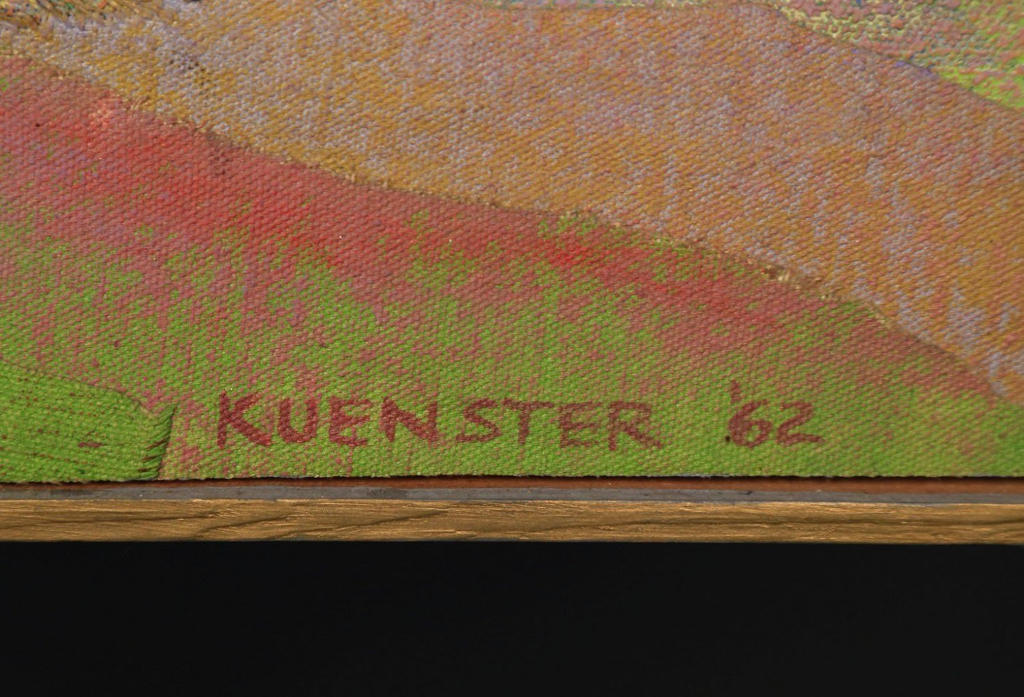 Kuenster - Three Nudes in a Landscape