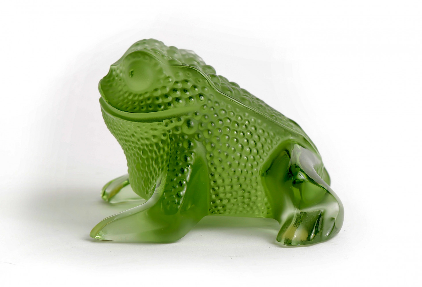 Lalique Art Glass, Gregoire Frog