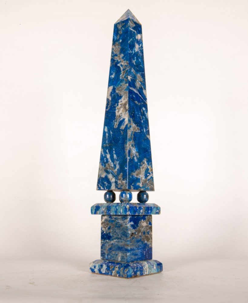 Lapis Lazuli Obelisk