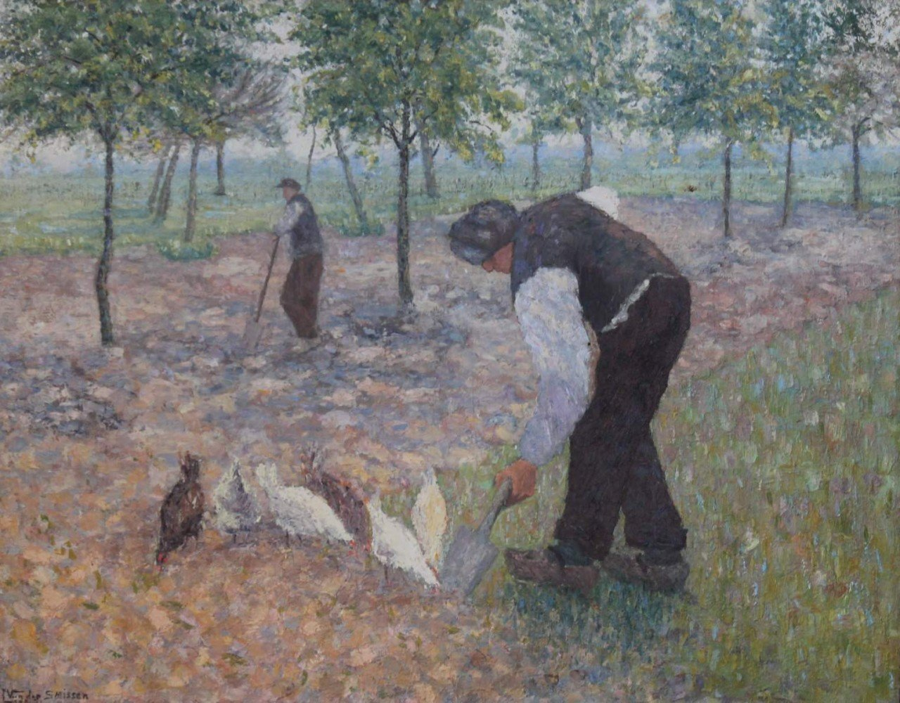 Planting by Leo Van der Smisson