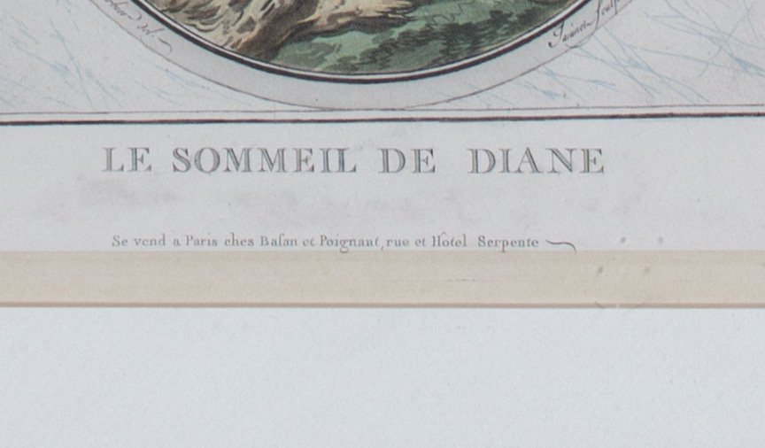 Le Sommeil De Diane by 19th Century French School