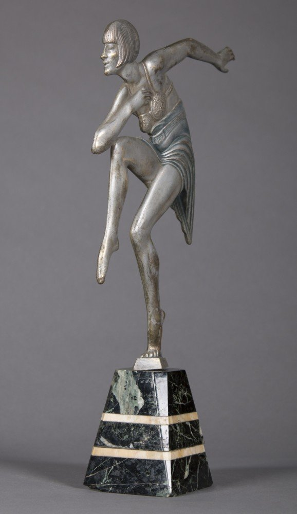 Art Deco Dancing Figure by Max Le Verrier
