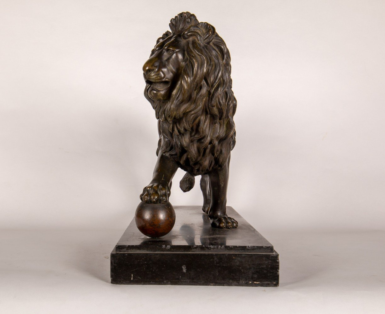 Lion with Ball