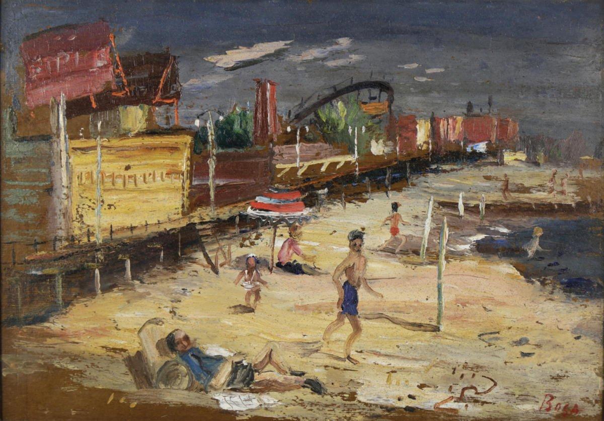 Coney Island by Louis Bosa