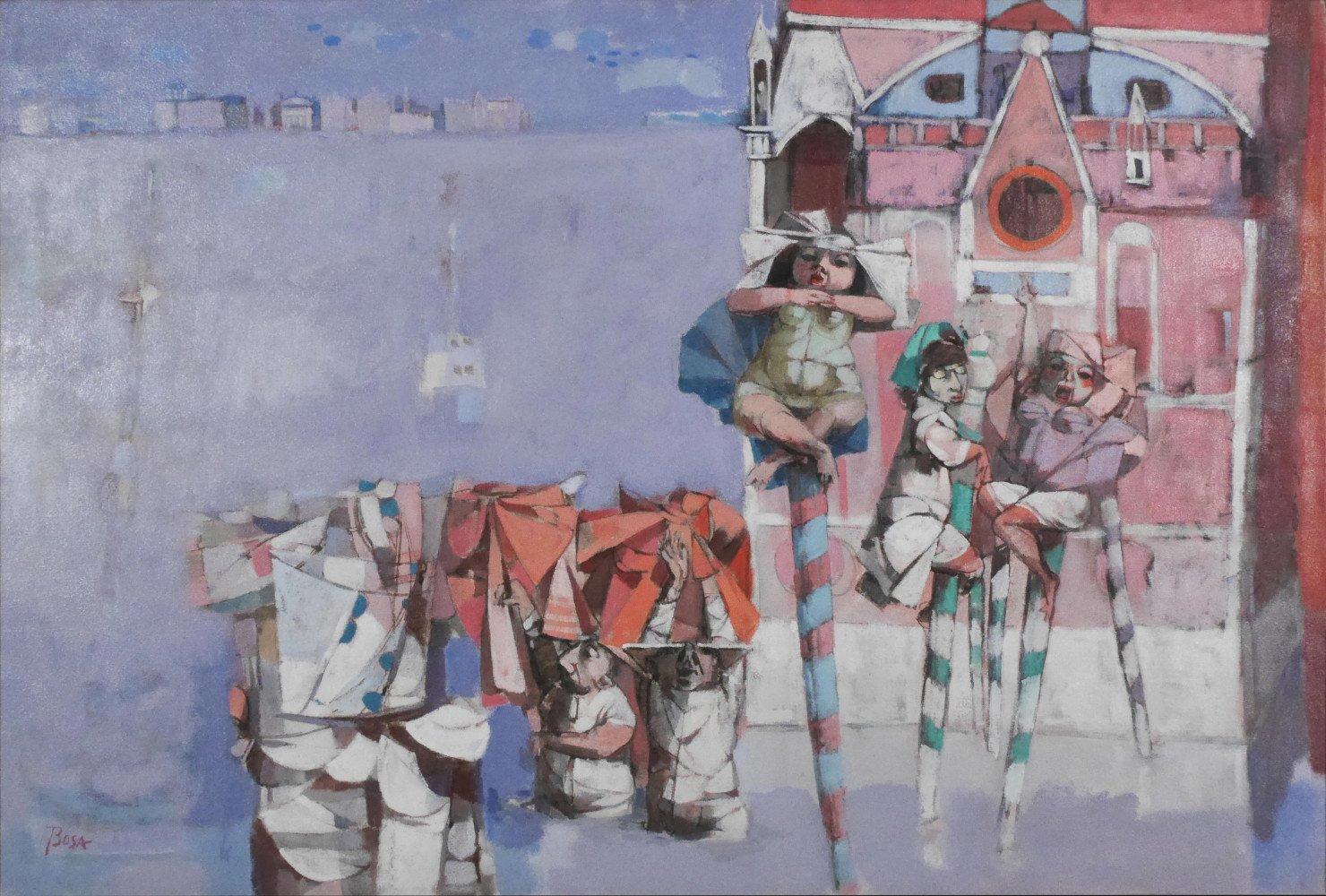 Flood in Venice by Louis Bosa