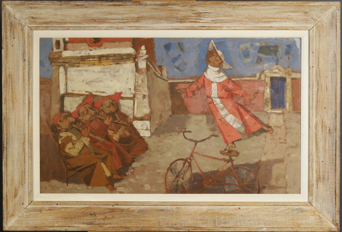 The Graceful Monk by Louis Bosa