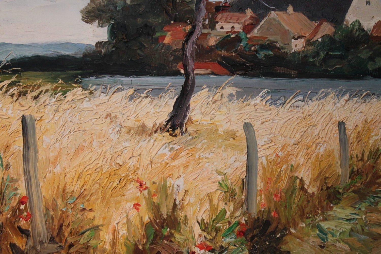 Bretagne Landscape by Marcel Dyf