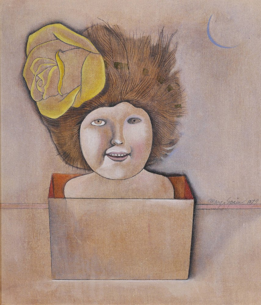 Girl in a Box by Mary Spain