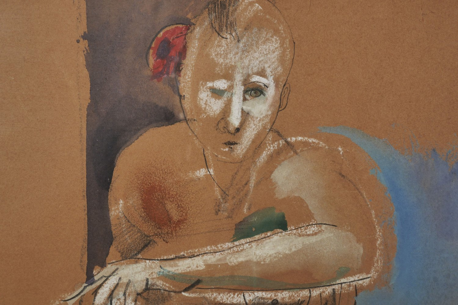 Seated Nude by Mary Spain