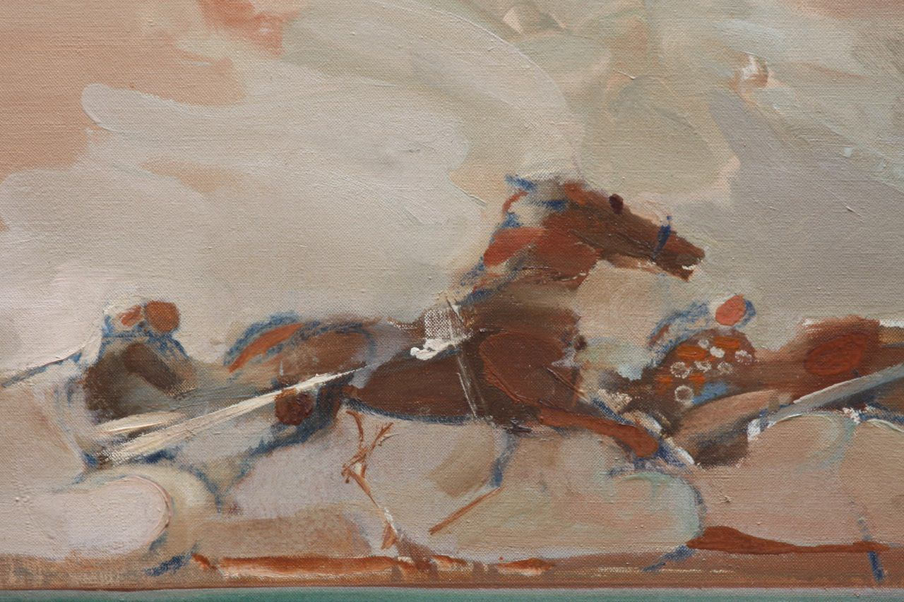 Harness Race by Maurice Chieze