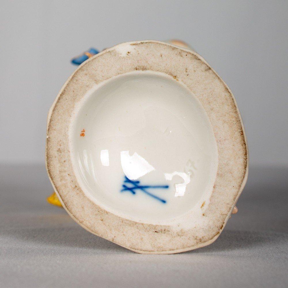 Meissen Porcelain, Four Seasons Cherub Figures