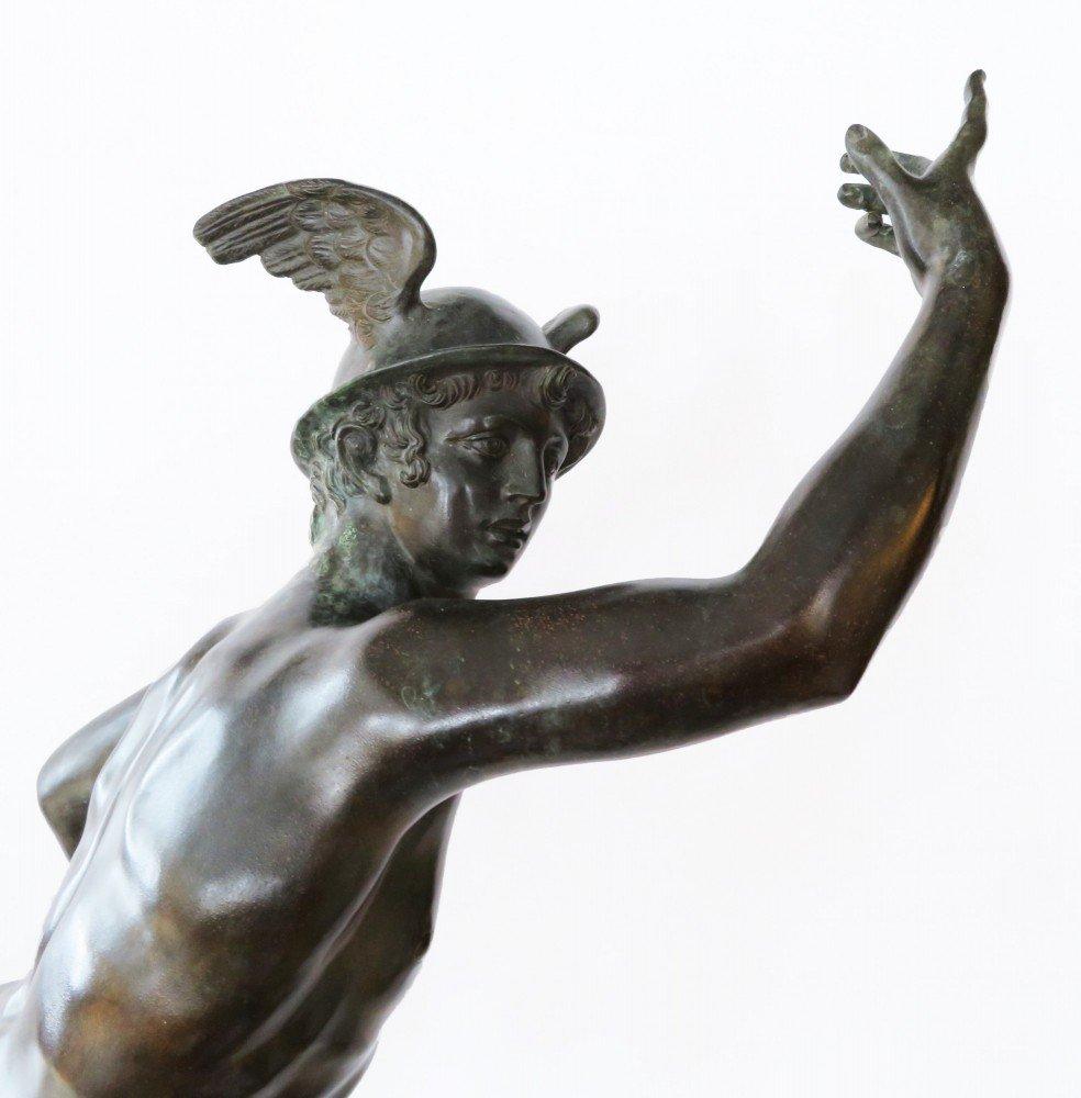 Grand Tour Bronze Sculpture of Hermes