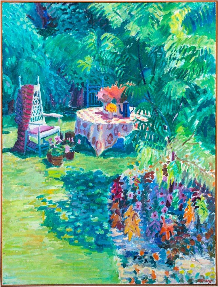 Table in the Garden by Joseph Benjamin O'Sickey