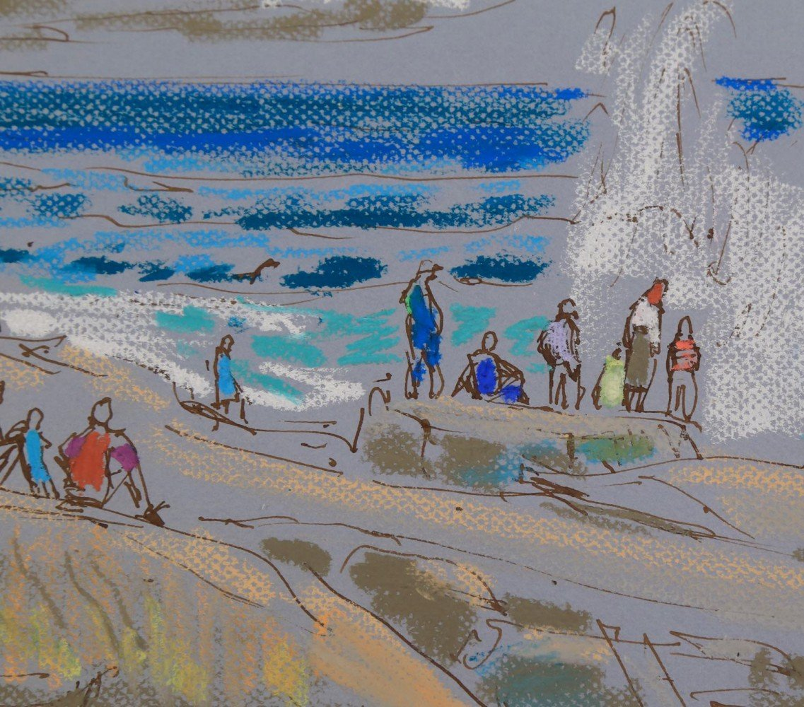 Maine Beach by Joseph Benjamin O'Sickey