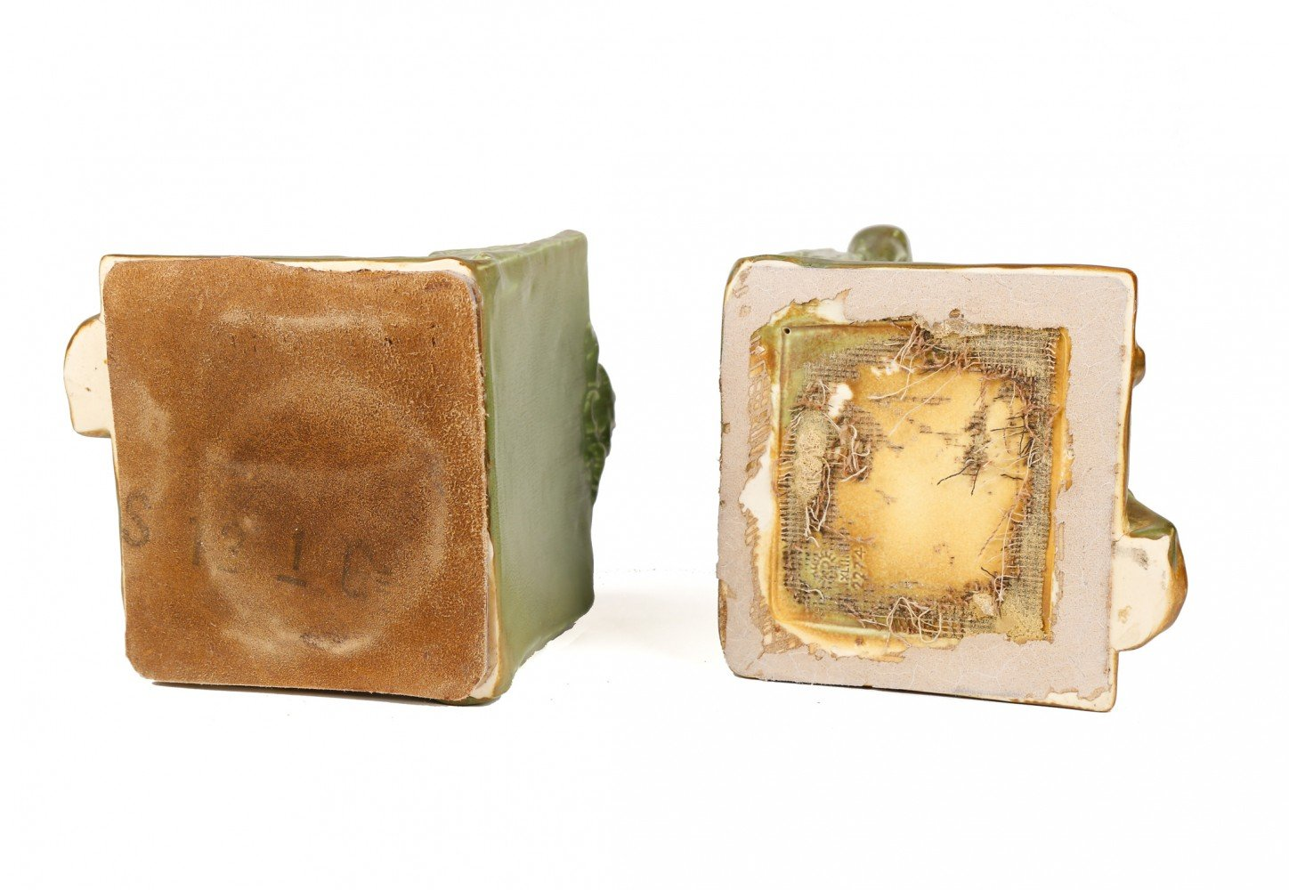 Pair of Rookwood Bookends by Rookwood Pottery Co.