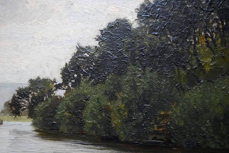 The Dee Near Corwen, Pair of Paintings