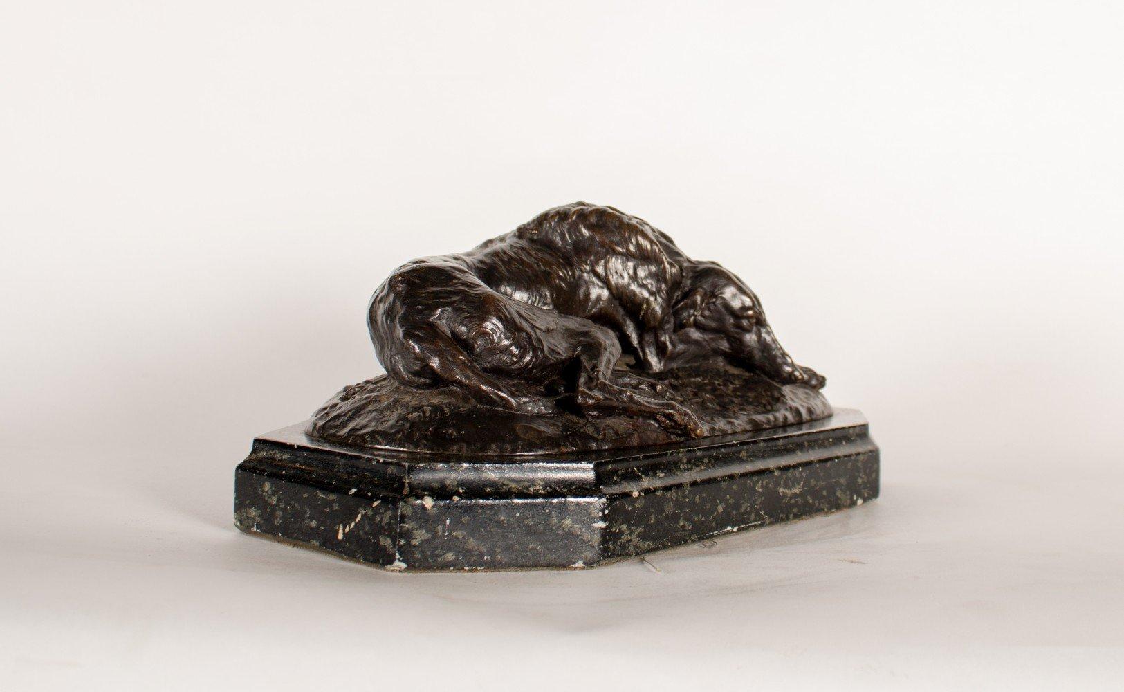 Scottish Deerhound by Joseph Paul Raymond Gayrard