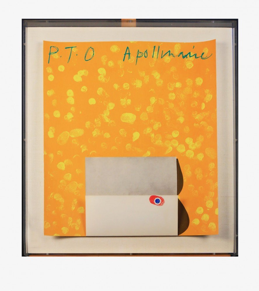 Roger Smith (20th Century) PTO Apollinaire Print
