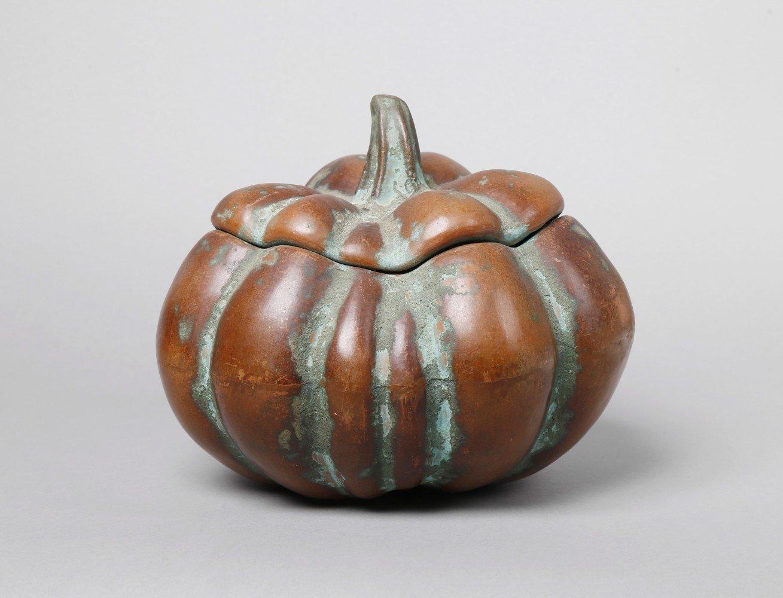 Glazed Terracotta Sculpture: