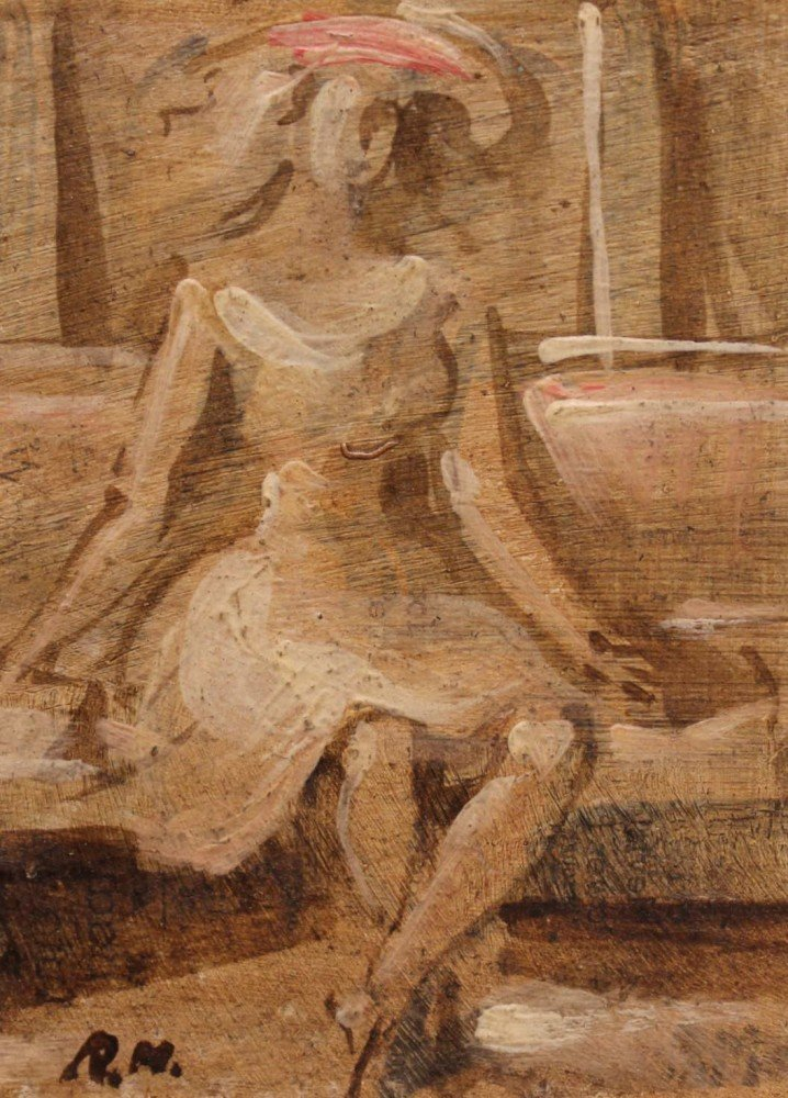 Seated Woman by Reginald Marsh