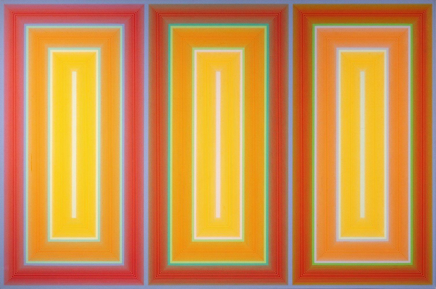 Trinity by Richard Anuszkiewicz
