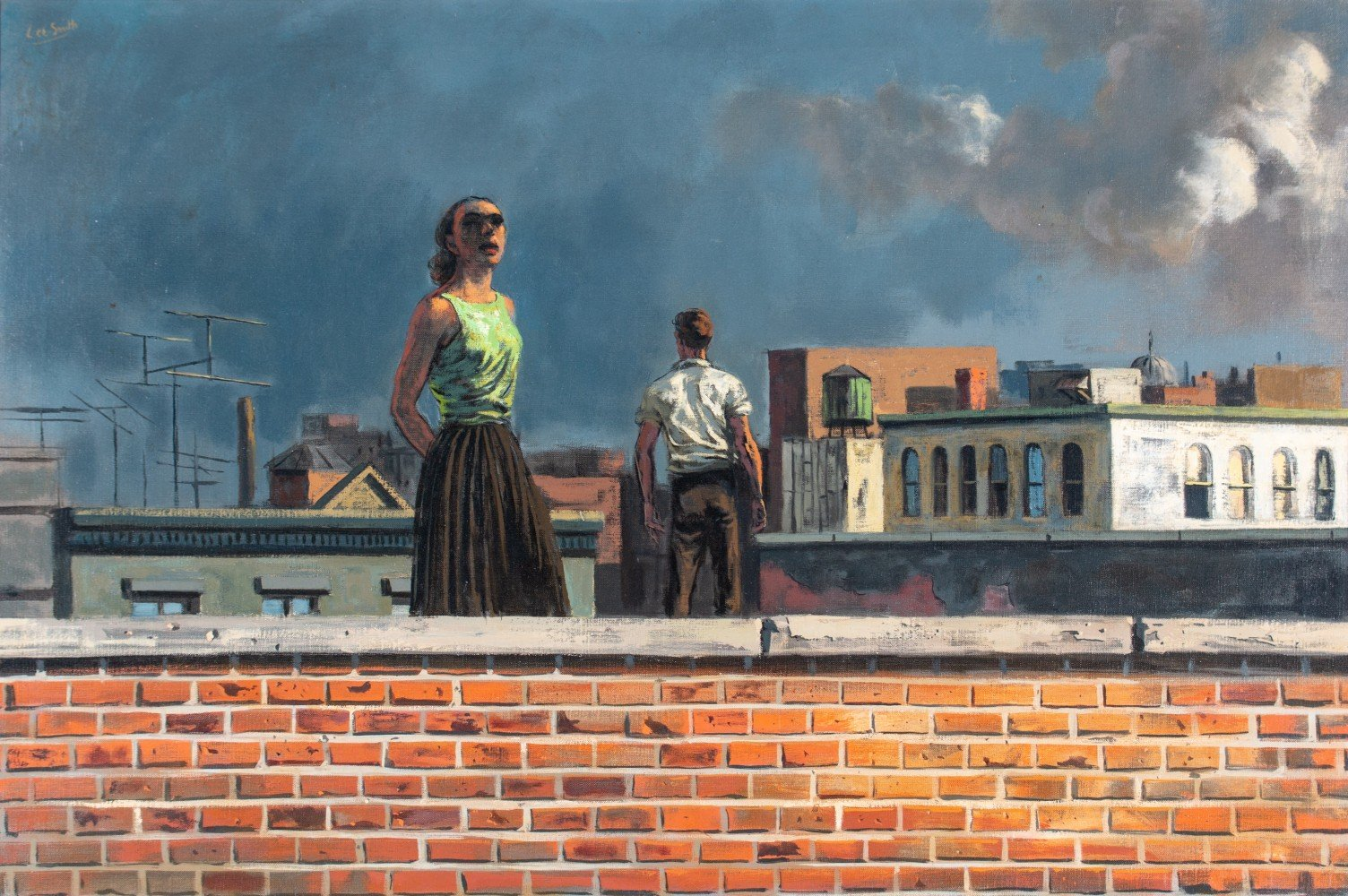 Rooftops by Hughie Lee-Smith
