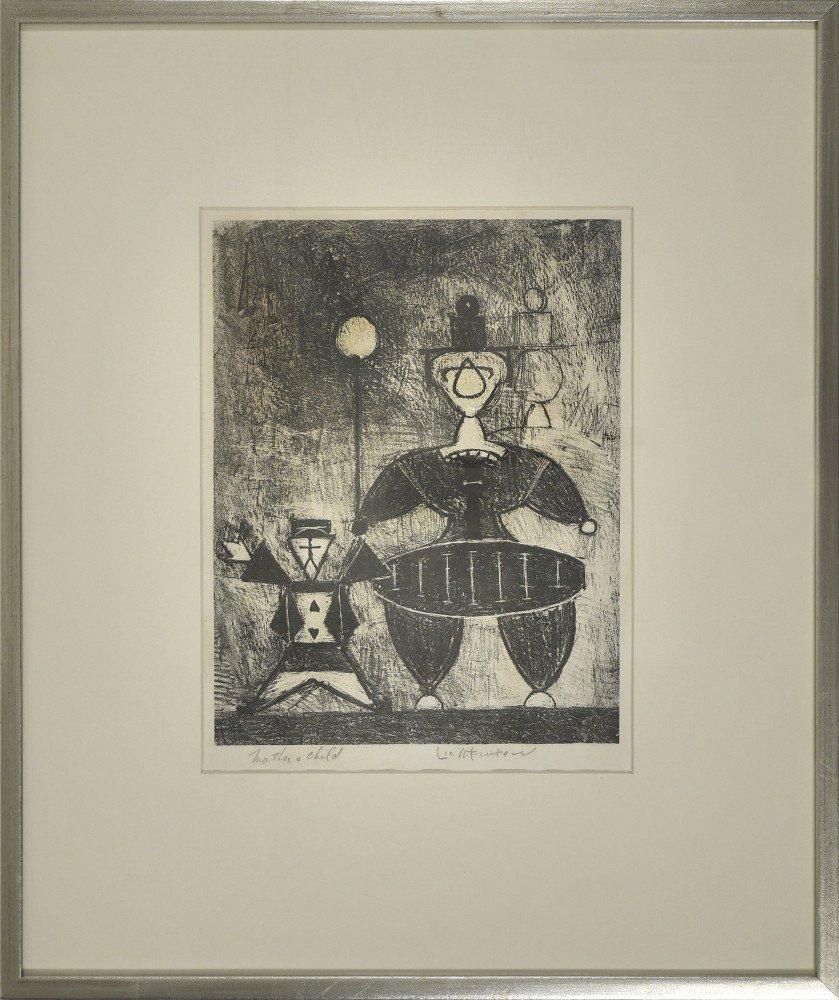 Mother and Child by Roy Lichenstein