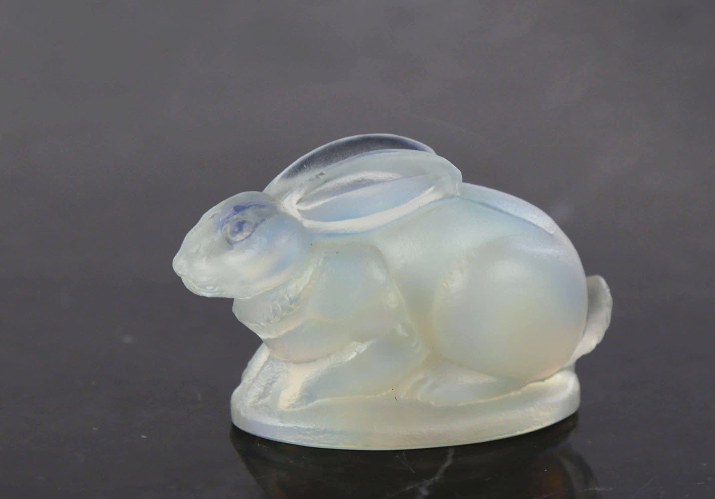 Sabino Opalescent Glass Rabbit by 20th Century French School