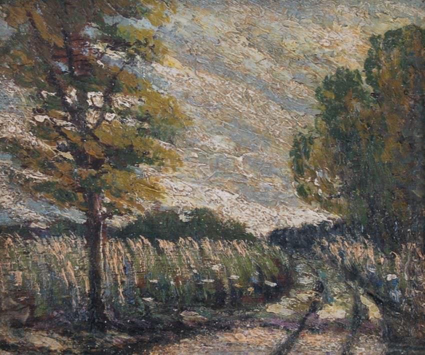 Country Road by Sandor Vago