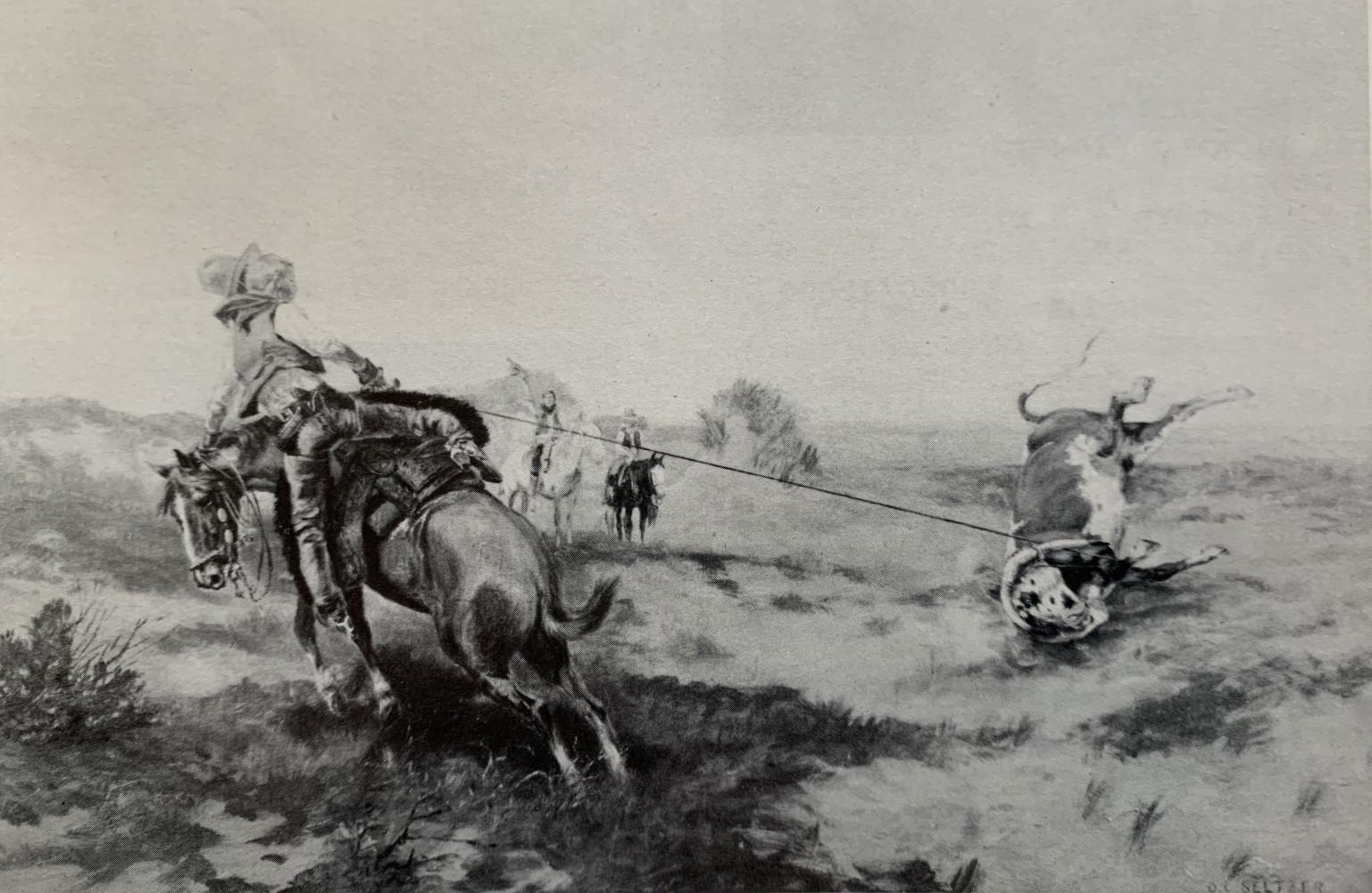 Throwing a Bollet by Olaf Carl Seltzer