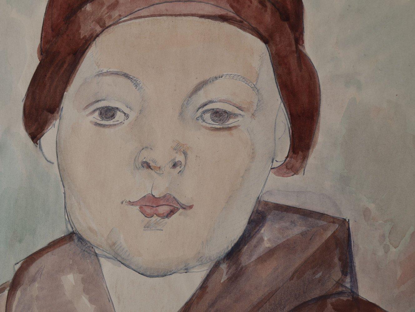 It's Me (Portrait of Robert Kulesa) by William Sommer