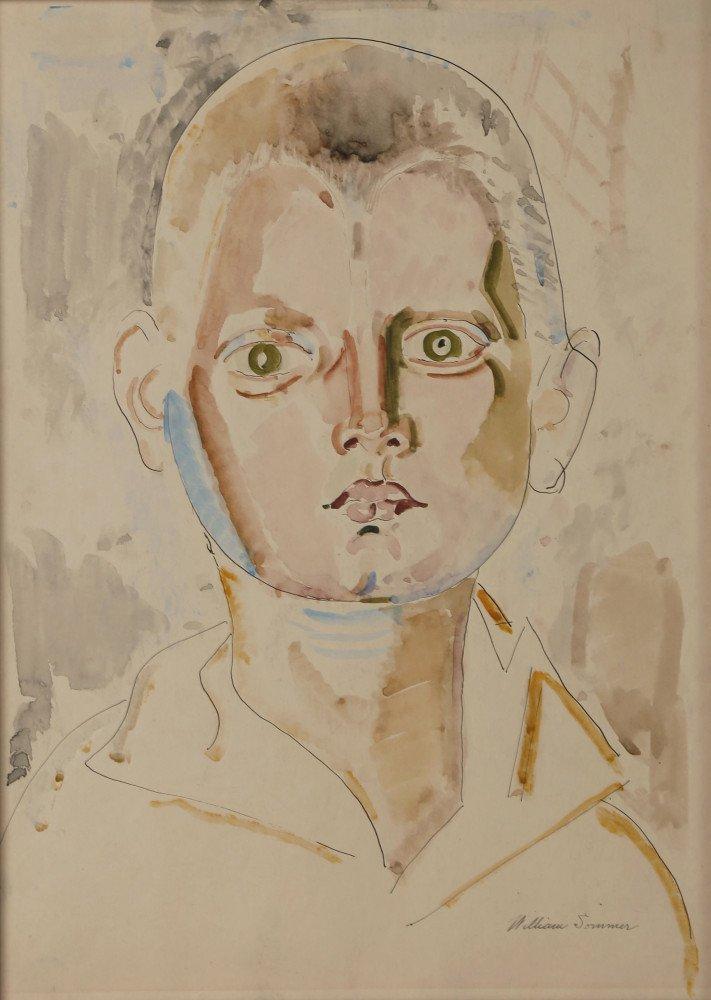 Resolute Boy by William Sommer