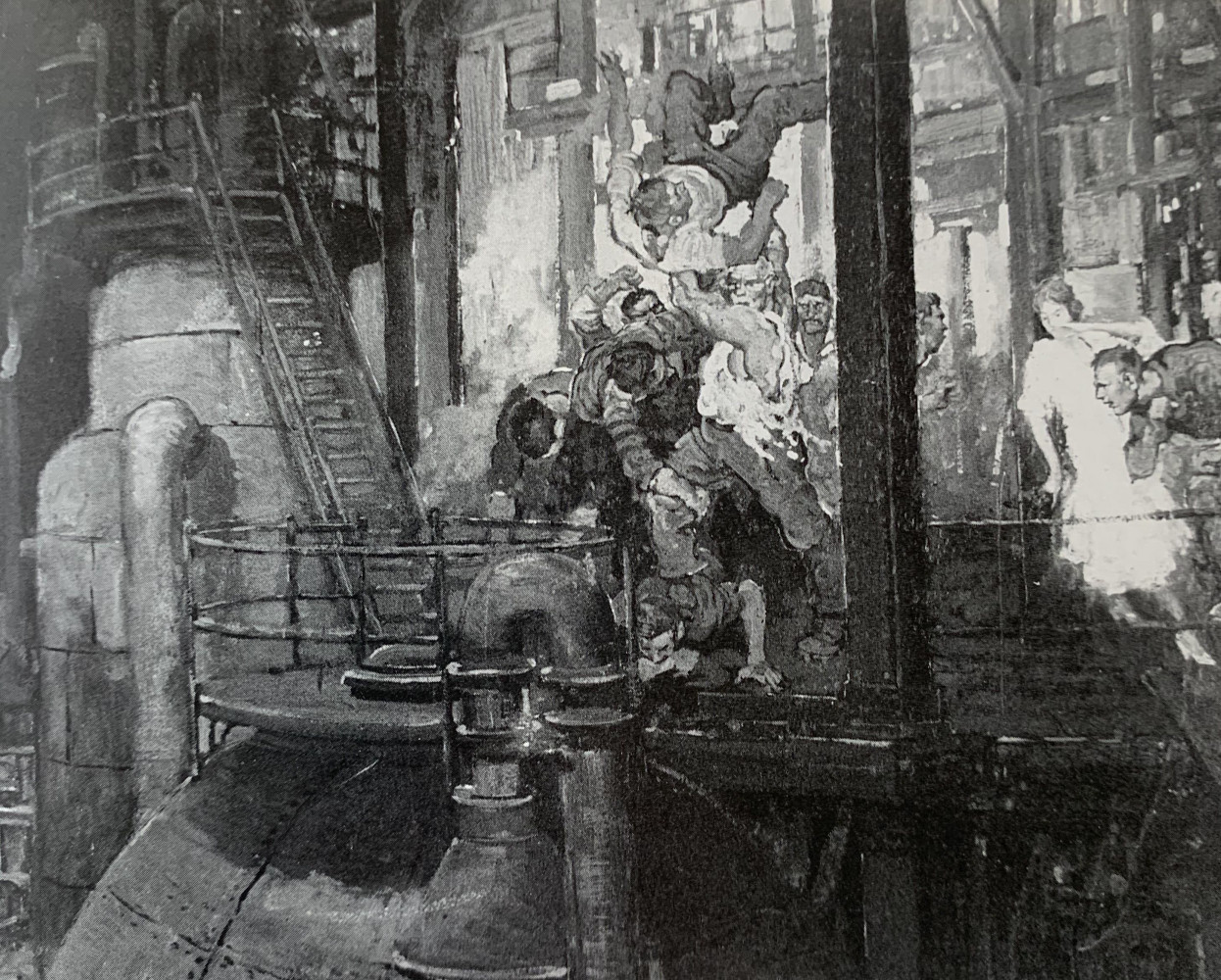 The Brawl by Henry James Soulen