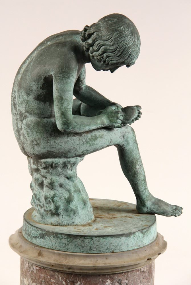 Spinario (Boy Pulling a Thorn from his Foot) by Early 19th Century Italian School