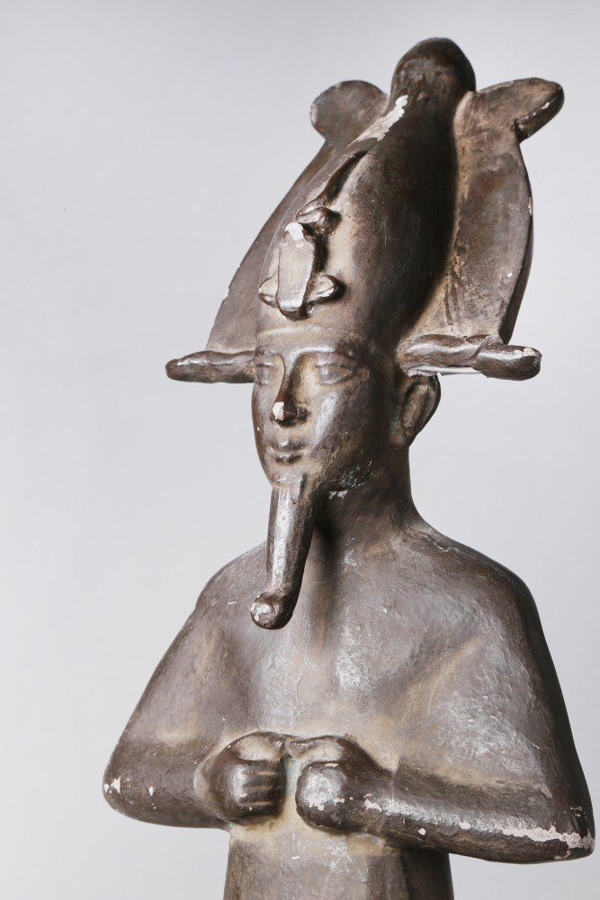 Statuette of Osiris by 19th Century Continental School